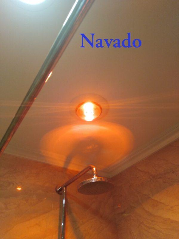 Đèn sưởi hồng ngoại milor 1 bóng âm trần