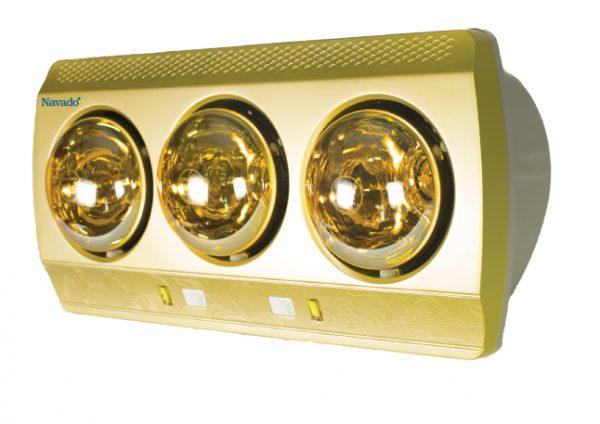 Đèn sưởi hồng ngoại Navado 3 bóng âm trần 1