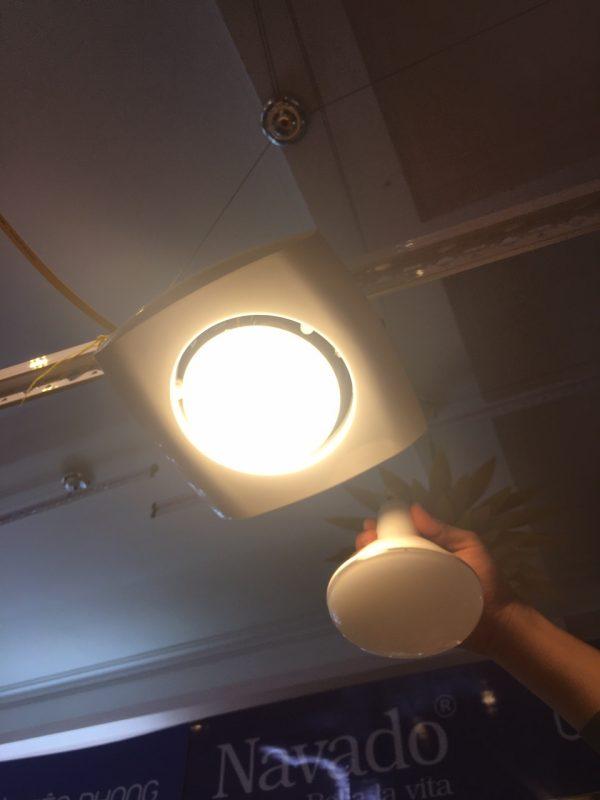 Đèn sưởi 1 bóng hồng ngoại âm trần