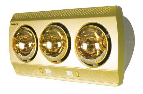 Ưu nhược điểm của đèn sưởi nhà tắm 3 bóng 1