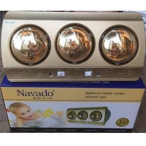 Đèn sưởi phòng tắm Navado 3 bóng