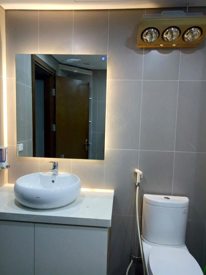 Đèn sưởi phòng tắm đem lại độ an toàn cùng tính thẩm mỹ cao