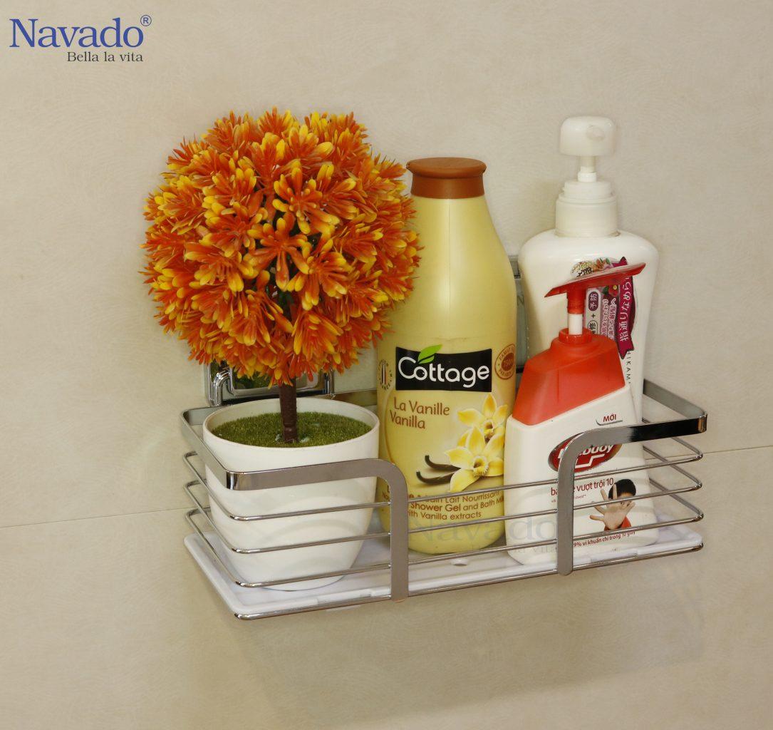 Giá treo đồ hít dán chân không thương hiệu Navado