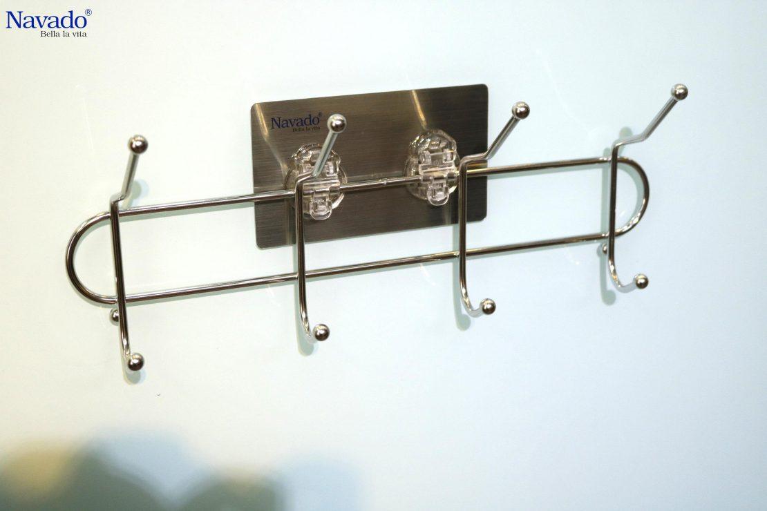 Móc treo đồ tiện dụng thiết kế gọn nhẹ, kiểu dáng đơn giản