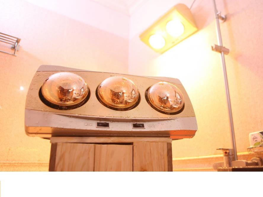 Đèn sưởi ấm nhà tắm thiết kế sang trọng