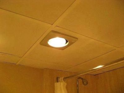 Đèn sưởi phòng tắm âm trần 1 bóng cao cấp