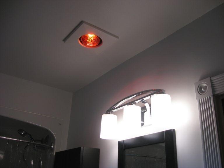 Đèn sưởi phòng tắm 1 bóng âm trần uy tín