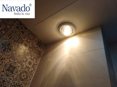 Mua đèn sưởi phòng tắm âm trần 1 bóng cao cấp