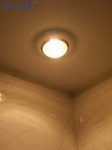 Đèn sưởi âm trần hồng ngoại 1 bóng phòng ngủ